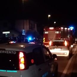 Scontro frontale tra due auto Grave un 30enne a Ghisalba