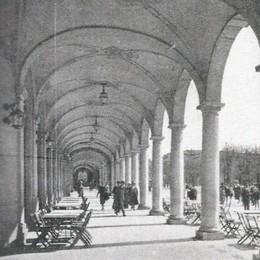 Sentierone, portici e passeggiate Un fascino che incanta da un secolo