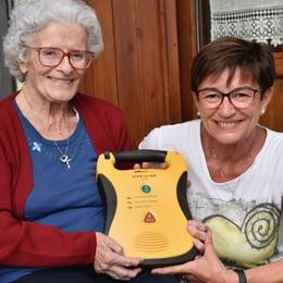 Brunella: «Con un defibrillatore ho fatto  ripartire il cuore di mia mamma»