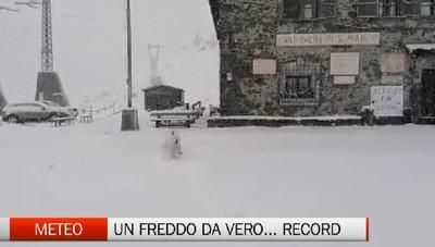 Meteo - Un freddo...da record