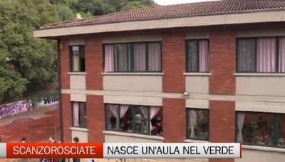 Nasce nella bergamasca la prima aula natura d'Italia