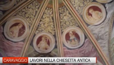Pronti i lavori per la chiesa di San Bernardino a Caravaggio