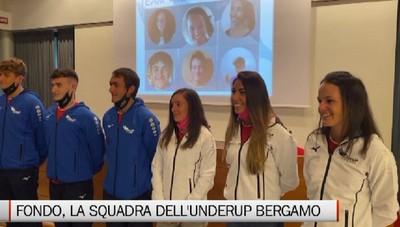 Sci di fondo, presentata l'underUP Ski Team Bergamo
