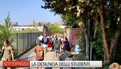 Sottopasso a Bergamo a rischio: troppi studenti alla chiusura delle scuole