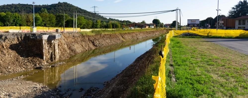 Treviolo-Paladina allagata La Provincia rivede il progetto