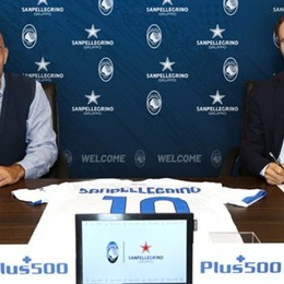 Atalanta, partnership con Sanpellegrino  Accordo siglato per due stagioni