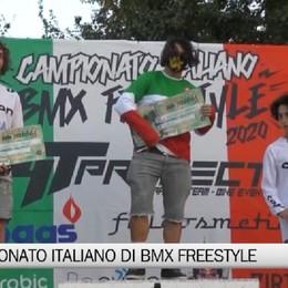 Bergamo, il campionato italiano di bmx freestyle