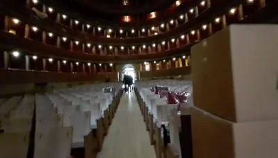 Restauro del Donizetti Cantiere in fase finale