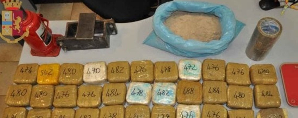 Trovato a Milano con 21 kg di eroina  Arrestato operaio incensurato di Bergamo