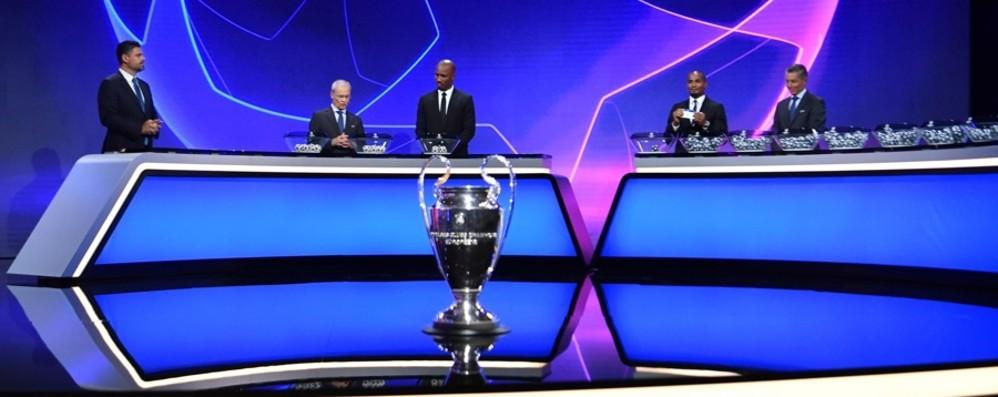 Champions League, l'Atalanta con Liverpool, Ajax e Midtjylland