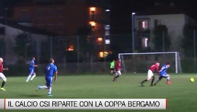 Csi - Il calcio riparte dalla Coppa Bergamo
