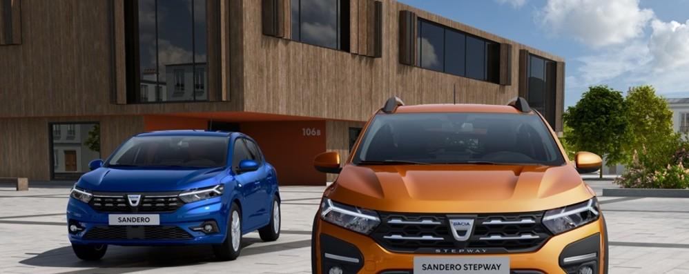Dacia rinnova Sandero nel segno dell'abitabilità