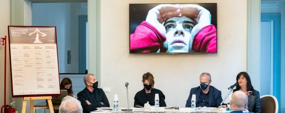 Il teatro ritrova la sua casa (il Donizetti) Una stagione coraggiosa e contingentata
