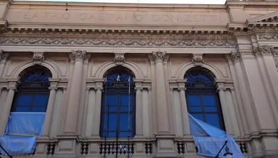 Teatro Donizetti, visita al cantiere