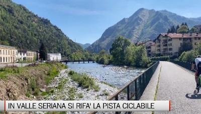 Valle Seriana, il progetto di riqualificazione della pista ciclopedonale