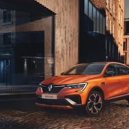 Nuovo Renault Arkana Suv ma anche coupé