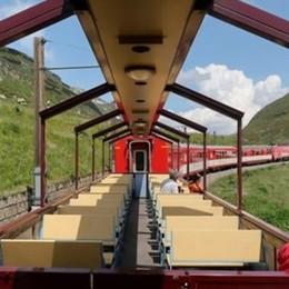 Turismo sul lago, arriva il treno scoperto In primavera il primo viaggio panoramico