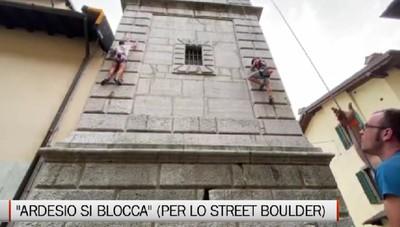 Arrampicata, Ardesio capitale dello street boulder