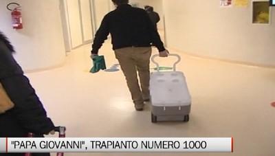 Bergamo - Al «Papa Giovanni» il trapianto di cuore numero 1000