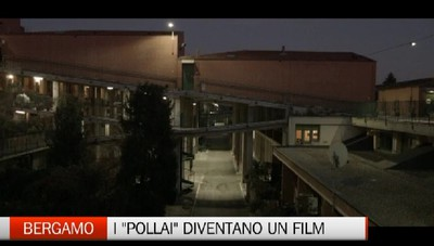 Bergamo, la storia dei pollai I famosi condomini in un film
