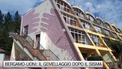 Bergamo-Lioni, il gemellaggio che vinse il sisma