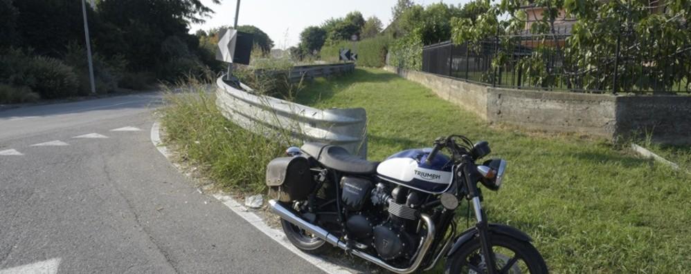 Calvenzano, perde il controllo della moto  Grave un motociclista di 47 anni
