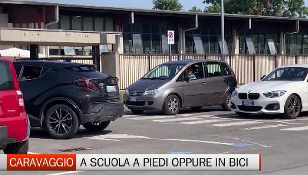 Caravaggio, il sindaco: A scuola meglio a piedi o in bici
