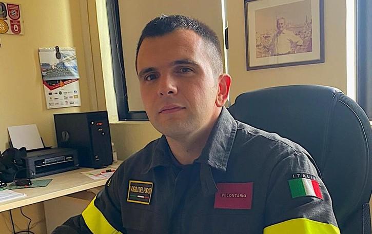 Comandante dei Vigili del fuoco a 30 anni «Qui in caserma una seconda famiglia»
