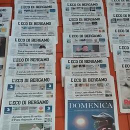 Giornali e pandemia, Premio Ischia Il riconoscimento a «L'Eco di Bergamo»