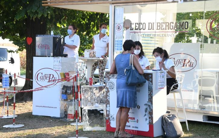 L'Eco café fa tappa a Scanzorosciate