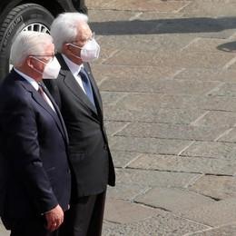 Malato di Casnigo con Mattarella e Steinmeier  «Grazie a Italia e Germania una seconda vita»