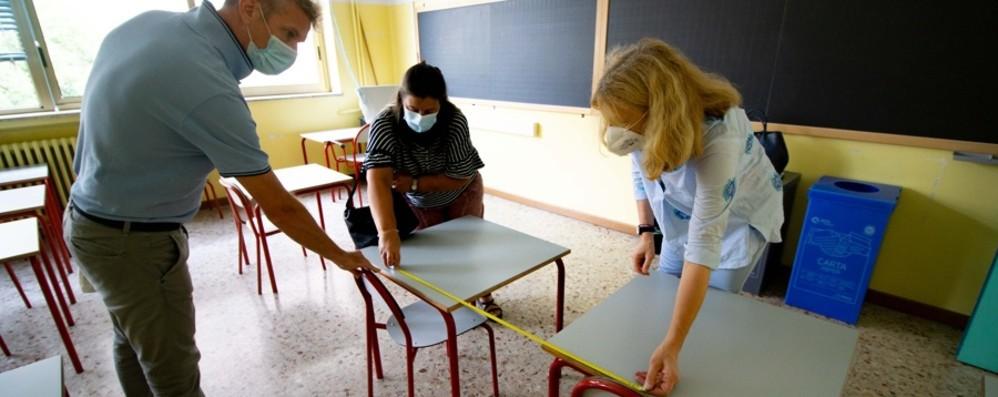 Mascherine nelle scuole bergamasche Ognuno fa da sè in attesa delle forniture