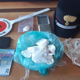 Nasconde la coca nel tubo della cucina Blitz dei carabinieri, 38enne finisce in cella