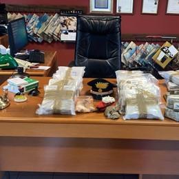 Nel box nasconde oltre 30 chili di droga Casirate d'Adda, arrestato 63enne