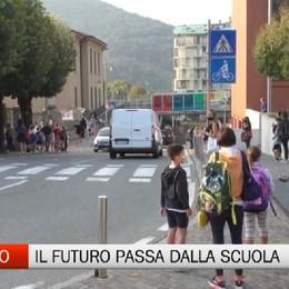 Nembro, la ripartenza della scuola è il futuro del paese