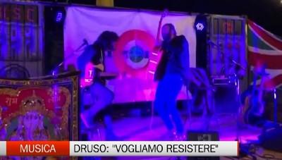 Omar Pedrini a Songavazzo Si suona per il Druso