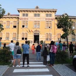 Prima campanella anche a Alzano-Foto Il sindaco: «È un giorno fondamentale»