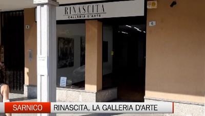 Sarnico, la galleria d'arte Rinascita