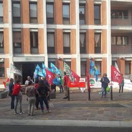 Sciopero della sanità privata Presidi in Bergamasca