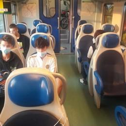 Treni, distanze e mascherine Nessuna criticità per il rientro a scuola