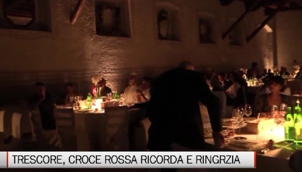 Trescore. Serata Cri Bergamo hinterland
