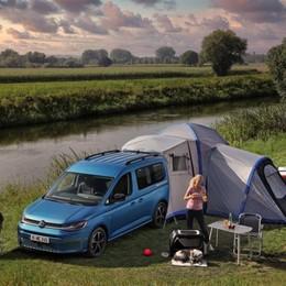 Volkswagen Caddy con la mini cucina