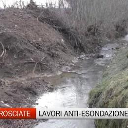Scanzorosciate, i lavori contro le esondazioni del torrente Fiobbio