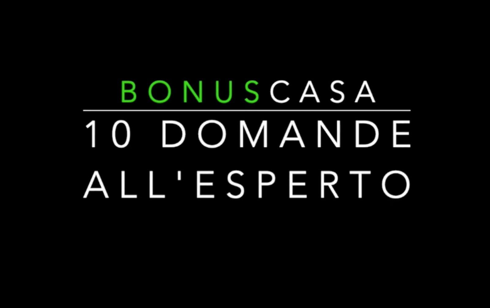 Guarda il video «10 Domande  all'esperto» tutte le risposte sul Bonus 110%