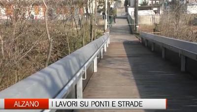 Alzano Lombardo, lo studio e i lavori sui ponti