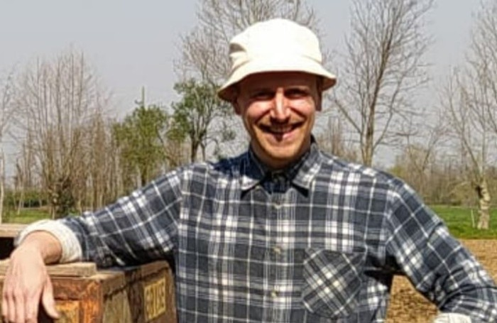 Alberto Baioni, coltivatore di aglio, ex pubblicitario