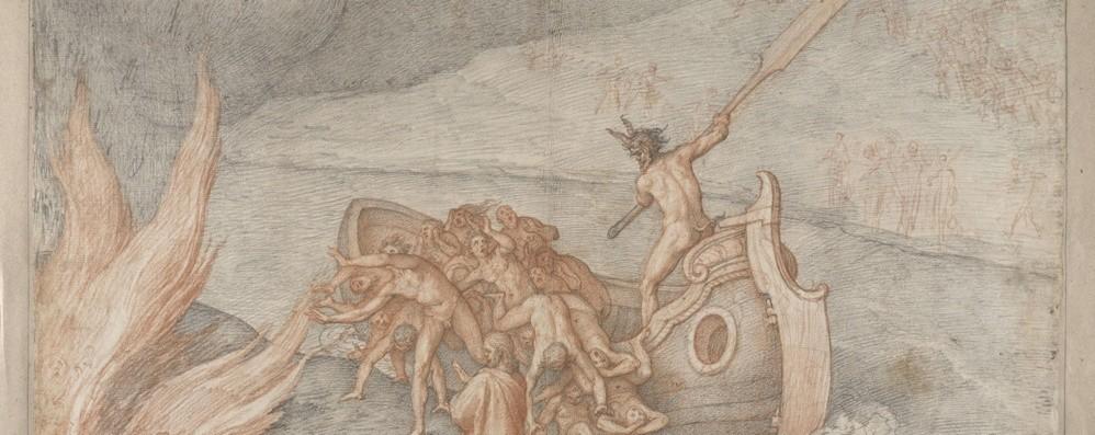 Dante Alighieri va online Cinquanta opere in mostra alla Mai