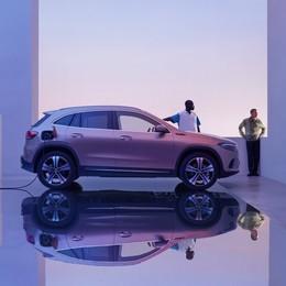EQA, l'elettrico Mercedes con 486 km di autonomia