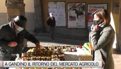 Gandino, la nuova stagione del mercato agricolo