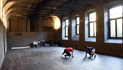 La meraviglia dell'ex monastero del Carmine. La casa del Teatro Tascabile restaurata